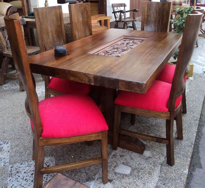 Innova & Decora - comedores en madera rustica 3