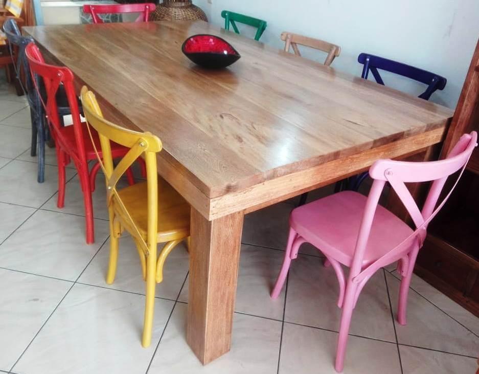 Innova & Decora - comedores en madera rustica 1