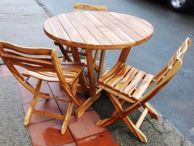 Innova & Decora - Comedores en madera teca 5