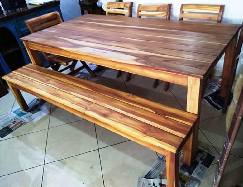 Innova & Decora - Comedores en madera teca 2