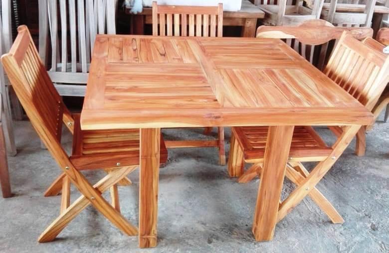 Innova & Decora - Comedores en madera teca 3