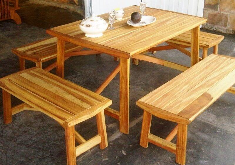 Innova & Decora - Comedores en madera teca 4